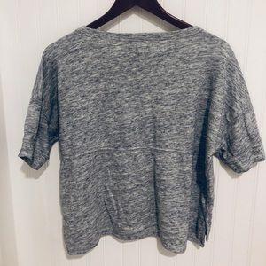 Madewell Tops - Madewell comfy soft boxy terry cloth Tee Top S